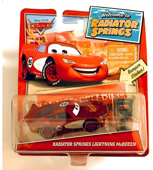"""""""Тачки"""" """"Добро Пожаловать в радиатор Спрингс"""" - МакКвин Радиатор Спрингс / Radiator Springs Lightning Mcqueen"""
