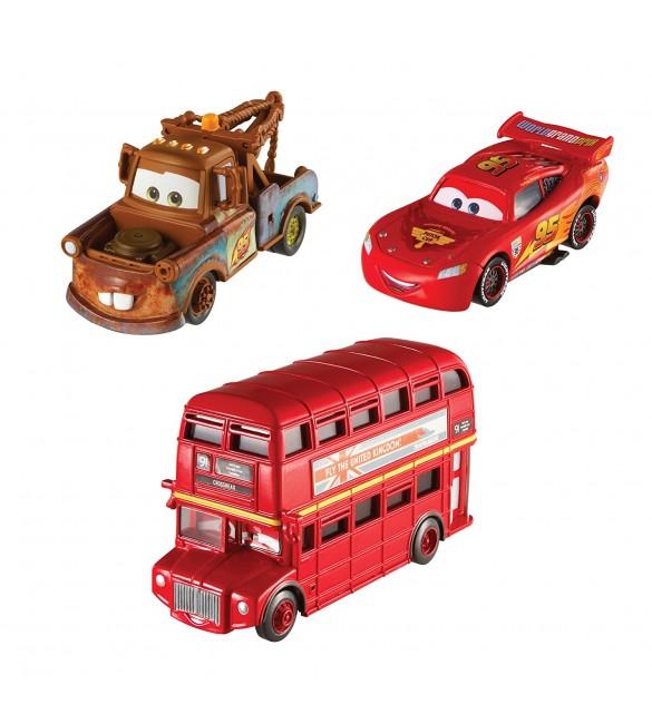 """""""Тачки 2""""  МакКвин, Мэтр и Двухэтажный автобус"""