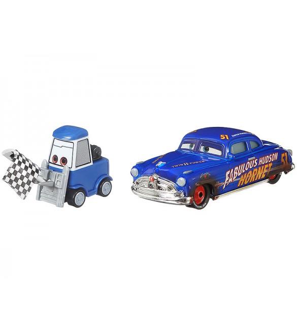 """Тачки 3"" Дабл Клутч Далли и Док Хадсон Хорнет / Double Clutch Dalley and Dirt Track Fabulous Hudson Hornet"