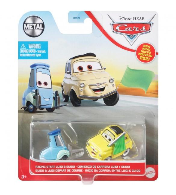 """""""Тачки 3"""" Луиджи и Гвидо """" Cтарт гонки"""" / Luigi and Guido """"Racing start"""""""
