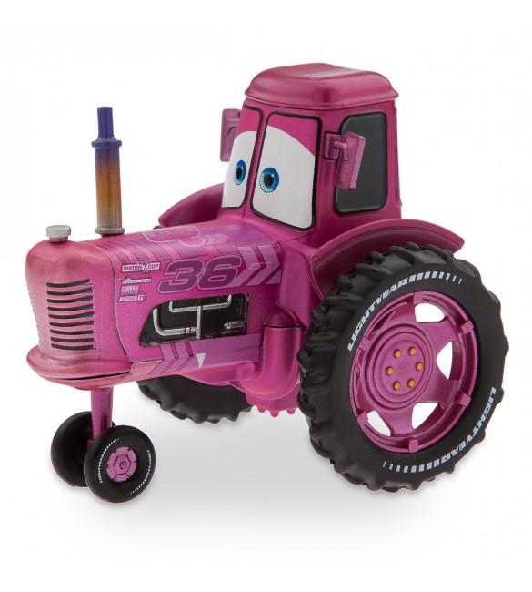 """""""Тачки 3"""" Трактор -Розовый"""